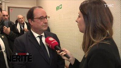 """Suppression de l'ISF, président des """"très riches"""" : François Hollande tacle (encore) Emmanuel Macron"""