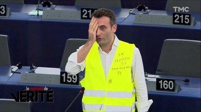 Le Moment de vérité : le happening de Florian Philippot ne passe pas chez les gilets jaunes