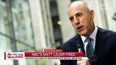 Harcèlement : Matt Lauer, la star de l'info US évincée