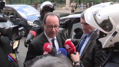 François Hollande, le jour dernier