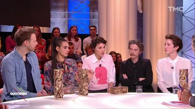 Invités : les Césarisé(e)s Jeanne Balibar, Sara Giraudeau, Camelia Jordana, Antoine Reinartz et Swann Arlaud