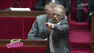 Jeudi Canap : auto-caresse, belle moustache et gros coup de gueule, les foufous de l'Assemblée