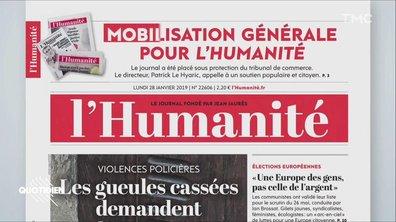 Zoom : le journal l'Humanité menacé de disparition, retour sur son histoire