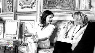 L'image du jour d'Etienne Carbonnier : Angelina Jolie à l'Elysée
