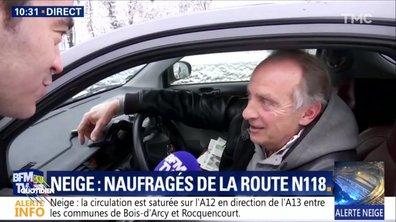 L'image du jour de Julien Bellver: la grosse galère d'Yves Lecoq sur la N118
