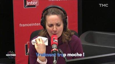 L'image du jour de Julien Bellver : Alex Vizorek et Charline Vanenecker chantent pour Mathieu Gallet