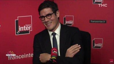 L'image du jour de Julien : Mathieu Gallet chambré par ses salariés