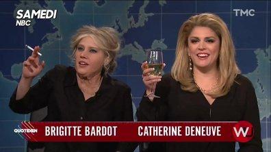 L'image du jour de Lilia Hassaine : Brigitte Bardot et Catherine Deneuve parodiées par le Saturday Night Live