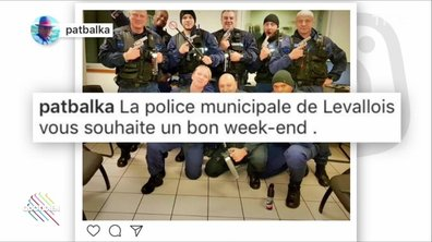 L'image du jour de Paul Larrouturou : Levallois-Perret, sa police, ses armes et sa fierté