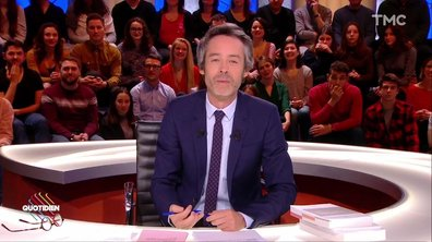 L'image du jour de Yann Barthès : Gérald Darmanin au secours de Nicolas Hulot