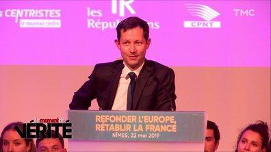 Le Moment de vérité : sans Laurent Wauquiez, François-Xavier Bellamy impose (enfin) son style