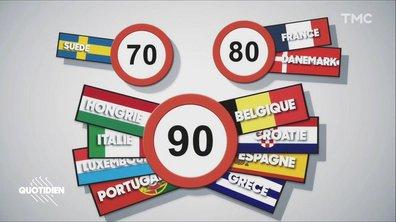 Zoom - Limitation à 80km/h : qu'en est-il pour nos voisins européens ?