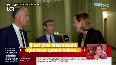 Macron sur TF1 : les coulisses de l'interview