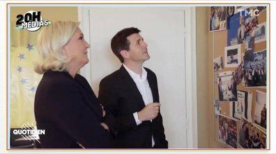 20h Médias : Marine Le Pen et ses chats, est-ce bien pertinent ?