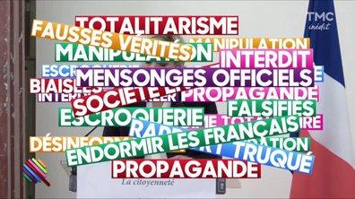 Marine Le Pen en pleine théorie du complot