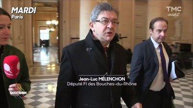"""Mélenchon : """"Salamé a des liens familiaux, politiques et communautaires"""""""