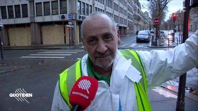 Merci aux agents de la propreté de Paris