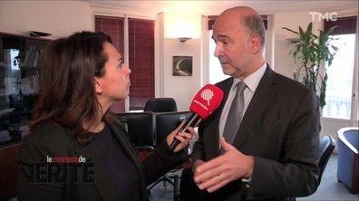 """Moment de vérité : """"C'est un fasciste"""", Pierre Moscovici réagit au coup d'éclat d'un député italien"""