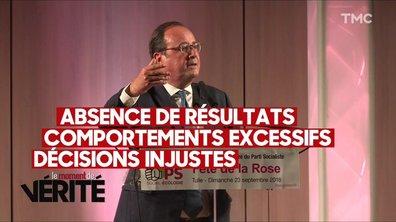 Moment de vérité : François Hollande revient (à Tulle) et tacle Macron