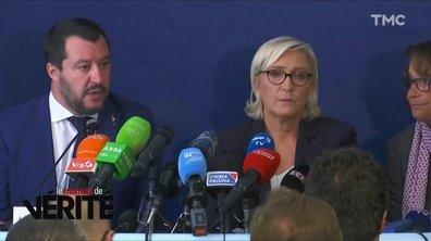 Moment de vérité : la rencontre Marine Le Pen - Matteo Salvini