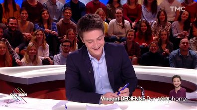 Des nouvelles de Vincent Dedienne...