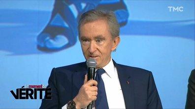 Le Moment de vérité : polémique autour des dons pour Notre-Dame, Bernard Arnault réagit