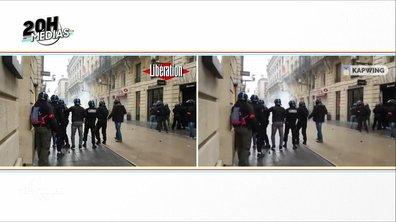 20h Médias : les policiers qui ont blessé un gilet jaune à Bordeaux ont-ils tenté d'effacer les preuves ?
