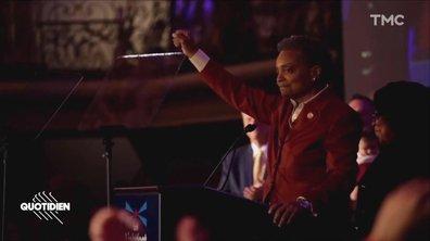 Zoom : portrait de Lori Lightfoot, première femme noire et lesbienne élue maire de Chicago