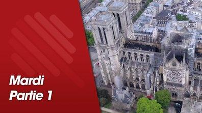 Quotidien, première partie du 16 avril 2019 spéciale Notre-Dame de Paris