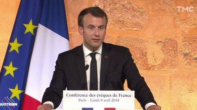 Profession Président : Emmanuel Macron sonne la messe