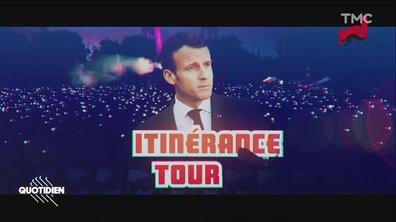 """Profession Président : Macron part en """"itinérance"""""""