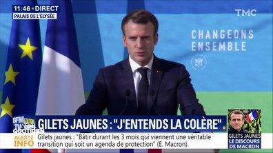 Profession président : Macron répond aux gilets jaunes