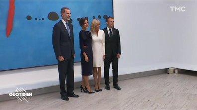Profession Président : Macron y el rey de España