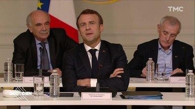 Profession président : on a remarqué un changement de vocabulaire chez Macron