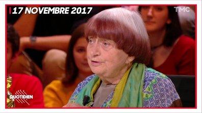 Quotidien rend hommage à Agnès Varda