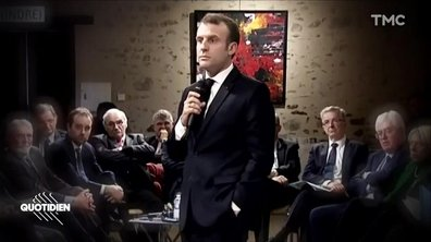 Le rap d'Emmanuel Macron qui va faire votre week-end