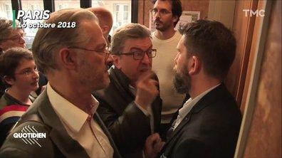 """""""La République, c'est moi !"""" : Jean-Luc Mélenchon assure n'avoir """"pas vu la caméra"""", sérieusement ?"""