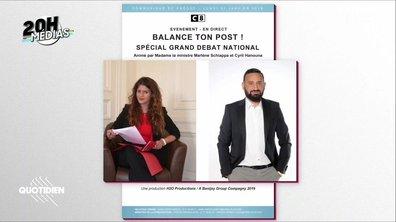20h Médias : comment s'est décidée l'émission de Marlène Schiappa chez Cyril Hanouna ?