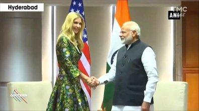 Trump en Inde : c'est sa fille qui fait le job !