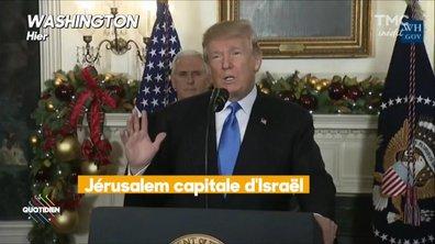 Trump veut son ambassade à Jérusalem