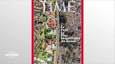 Zoom : la Une choc du Time sur l'Afrique du sud