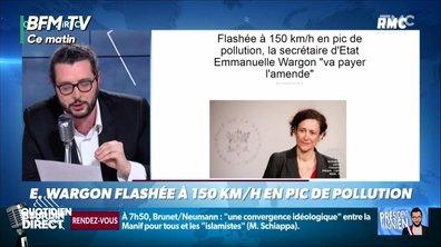 Une ministre flashée à 150km/h (et c'est pas tout)