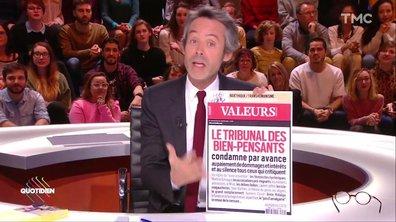 Quand Valeurs Actuelles épingle les bien-pensants... et Yann Barthès
