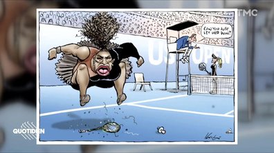 Zoom : la caricature polémique de Serena Williams