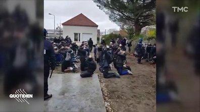 Zoom : d'où viennent les images des lycéens arrêtés à Mantes-la-Jolie ?