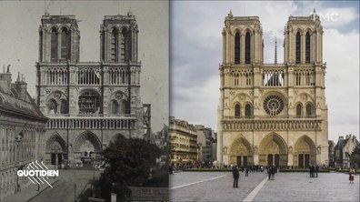 Zoom : Notre-Dame, 800 ans de souvenirs et d'histoire de France