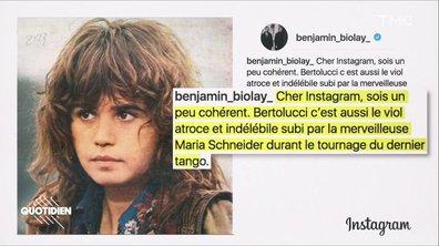 Zoom : l'hommage à Bernardo Bertolucci rattrapé par le scandale Maria Schneider