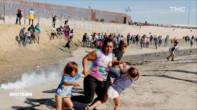Zoom : la photo choc du Washington Post sur les migrants honduriens