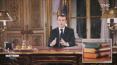 Zoom : les symboles cachés du discours d'Emmanuel Macron
