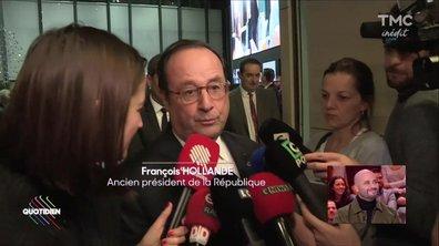 Prix de l'humour politique: Hollande sacré pour son oeuvre !